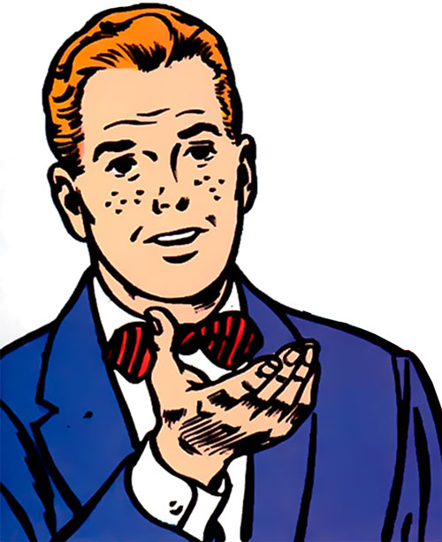 Jimmy Olsen, Superman's Pal with a red bow tie