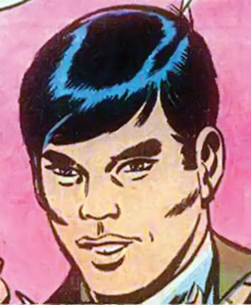 Jimmy Woo of SHIELD (Marvel Comics) face closeup Godzilla