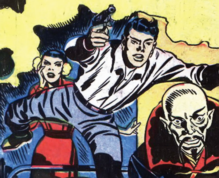 Image result for yellow claw jimmy woo marvel comics