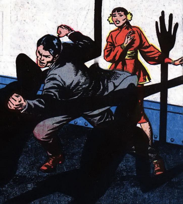 Jimmy Woo fights shadow men