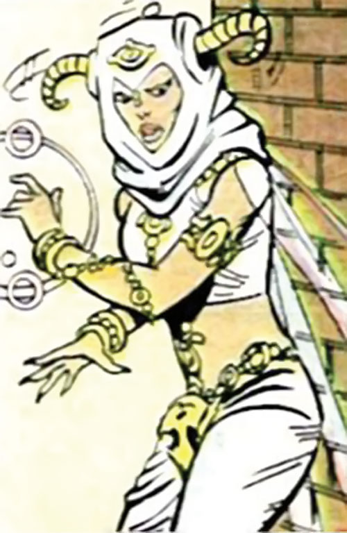 Jinx of the Fearsome Five (DC Comics) during her early appearances