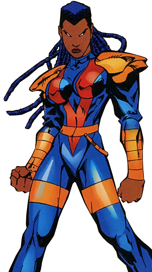 Joanna Cargill of the Acolytes of Magneto (X-Men enemy) (Marvel Comics) (Frenzy)