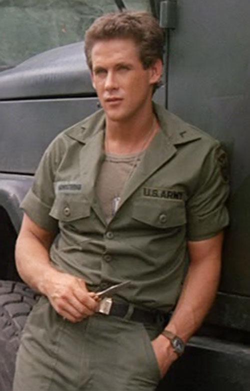 Joe Armstrong (Michael Dudikoff in American Ninja)