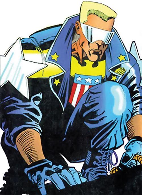 Joe Public (Batman Bloodlines) (DC Comics) crouching