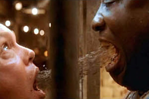John Coffey (Michael Clarke Duncan in The Green Mile) (Stephen King) using his power