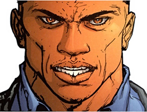 John Doran of Stormwatch PHD (Wildstorm Comics) face closeup