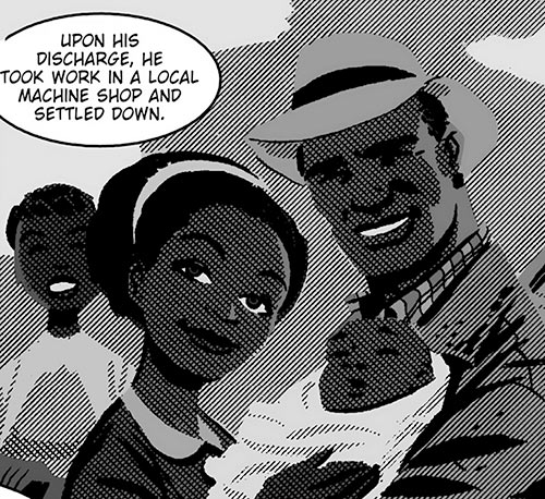 John Henry (The New Frontier) (DC Comics) before the KKK attack