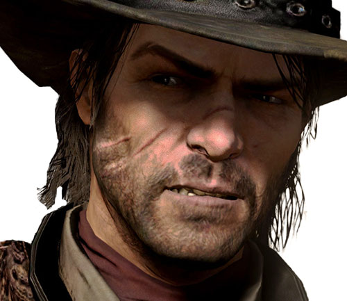 John Marston (Red Dead Redemption) face closeup