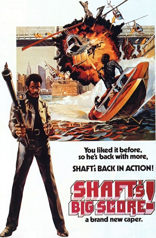 Shaft's Big Score movie poster