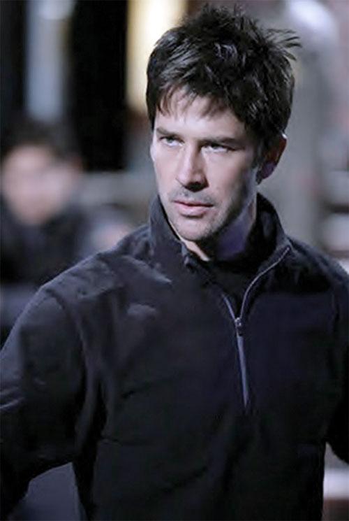 John Shepard (Joe Flanigan in Stargate Atlantis) looking focused