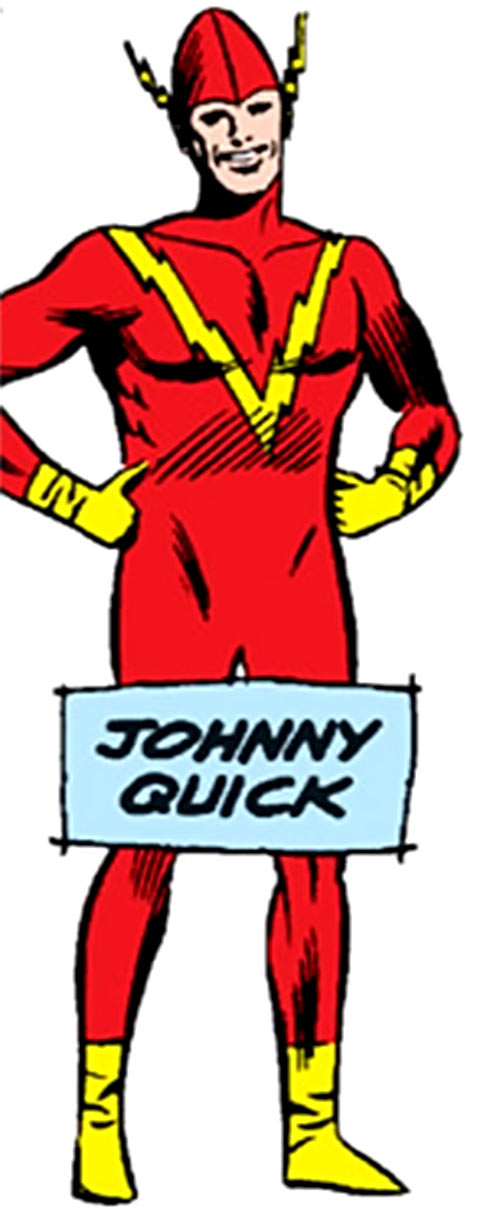Johnny Quick (DC Comics) of the Crime Syndicate in 1964