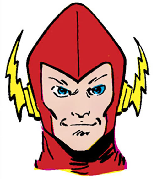Johnny Quick of the Crime Syndicate (DC Comics) (pre-Crisis Earth-3) portrait