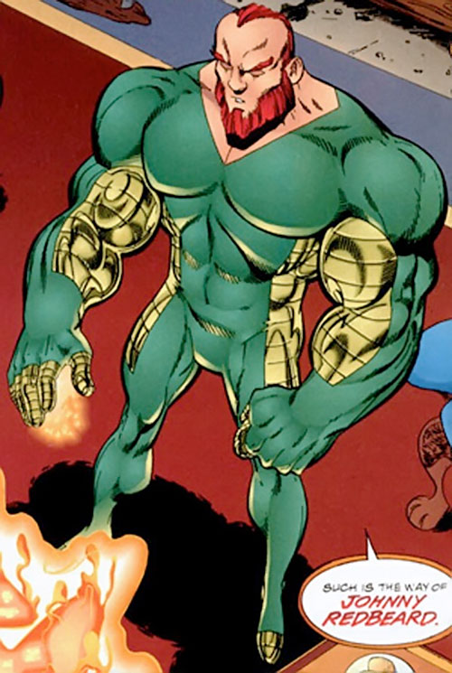 Johnny Redbeard (Savage Dragon Comics) high angle shot