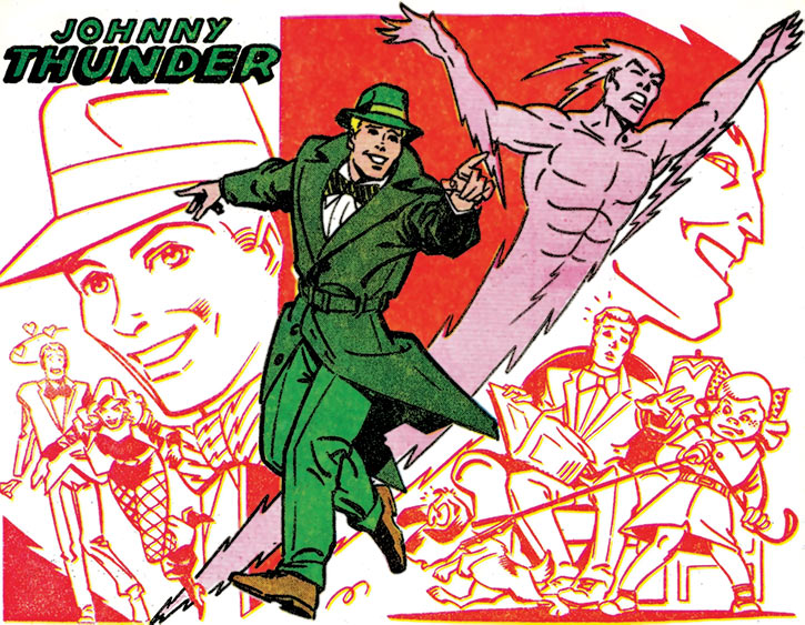Johnny Thunder from the Who's Who