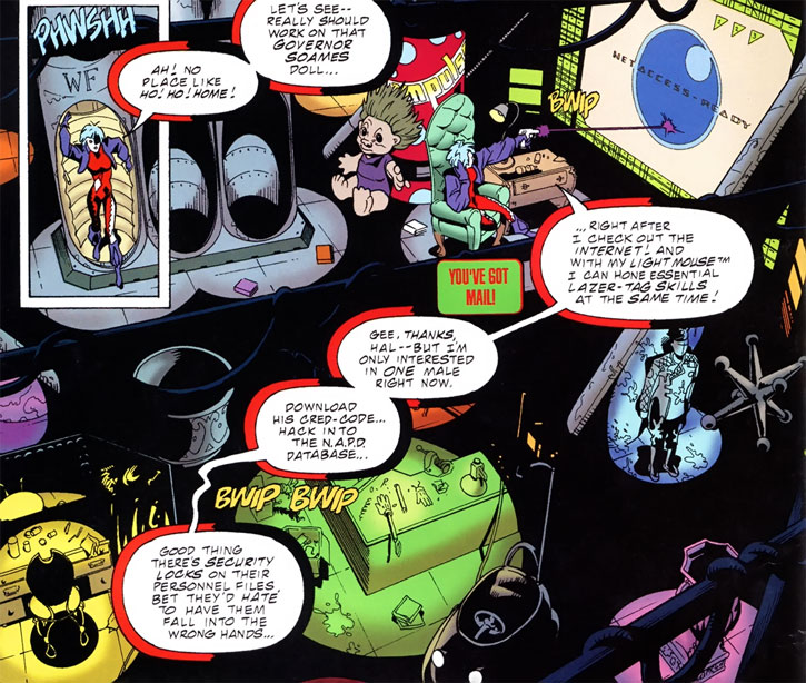 Joker (DC's Tangent Comics) secret headquarters