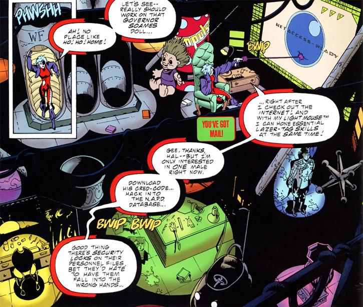 Joker (DC's Tangent Comics) secret headquarters