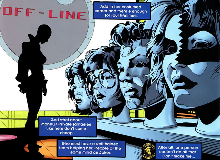Joker (DC's Tangent Comics) masks and wigs