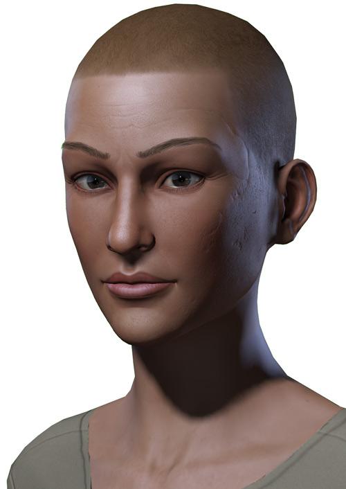 Jolene Hassan - Vault Dweller - Fallout 1 - Part 3 - Portrait