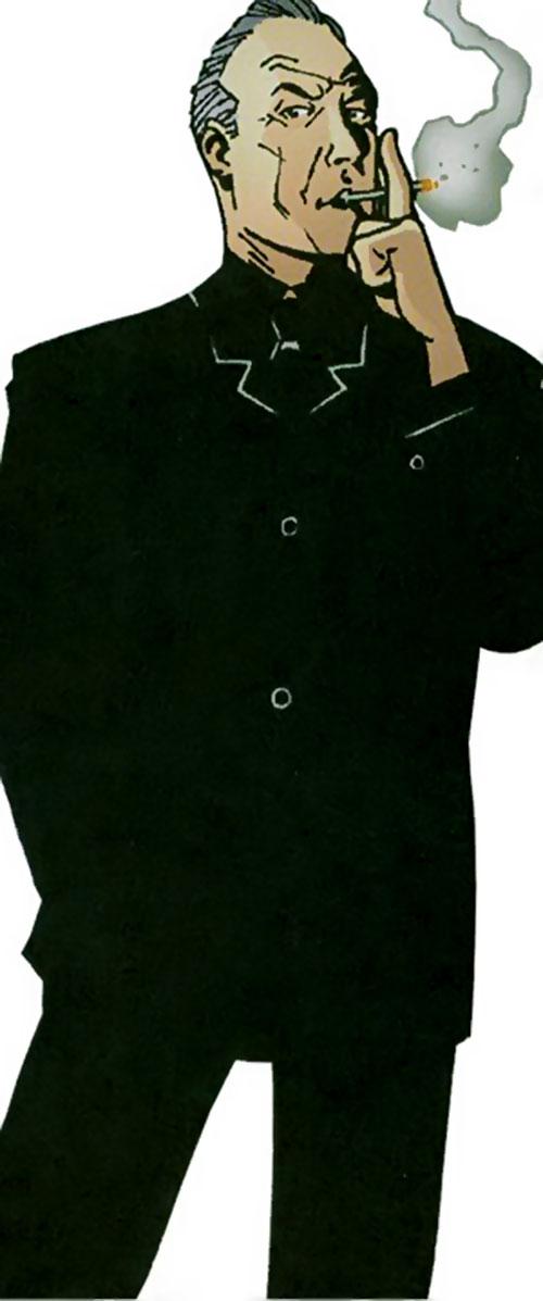 Jon Drake of the Establishment (Wildstorm Comics), smoking
