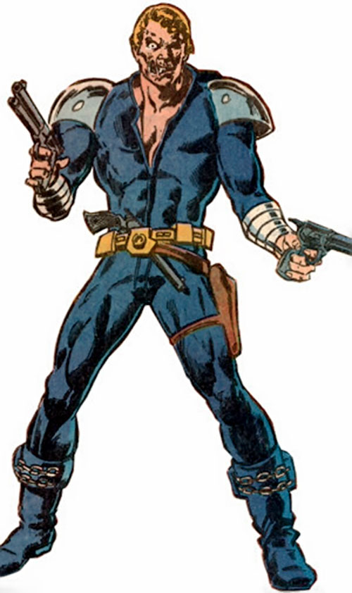 Jonah Hex in his future leathers