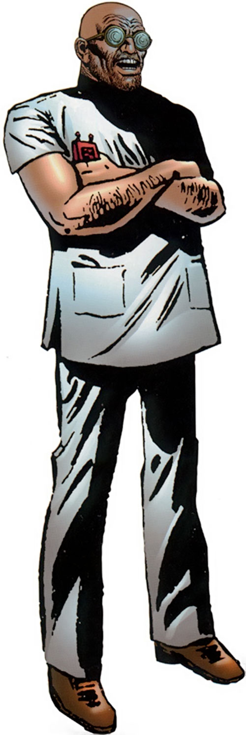 Jonas Harrow (Spider-Man enemy) (Marvel Comics)