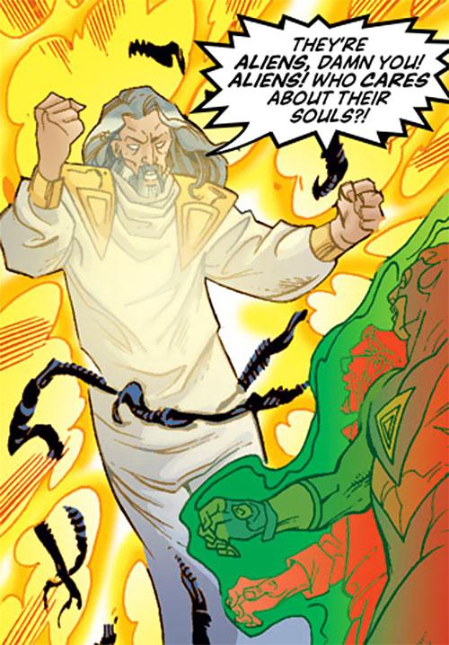 Jonathan Tremont of the Triune (Avengers enemy) (Marvel Comics) vs. Triathlon