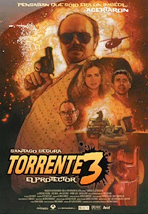 Torrente 3 El Protector movie poster