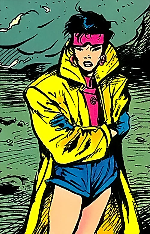 Jubilee (X-Men) (Marvel Comics) (Earliest) Texeira 1993 art