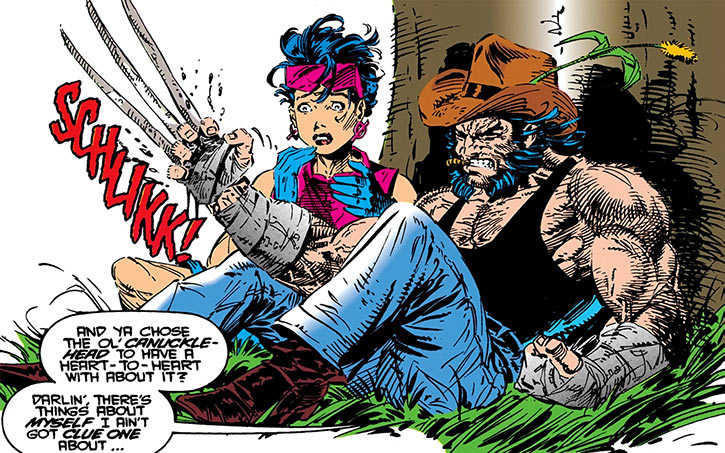 Jubilee (X-Men) (Marvel Comics) (Earliest) Wolverine bone claws