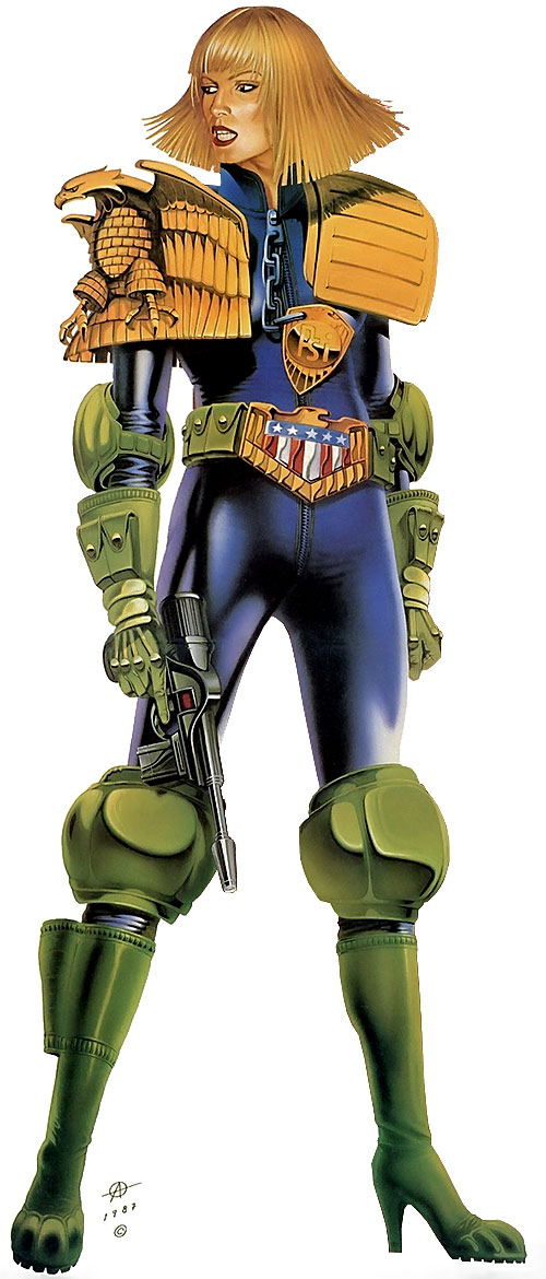 Judge Anderson (Judge Dredd 2000 AD)