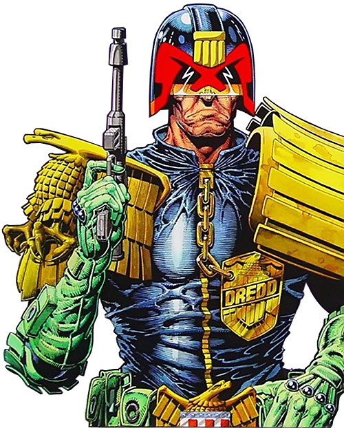 Judge Dredd (2000AD Comics) portrait
