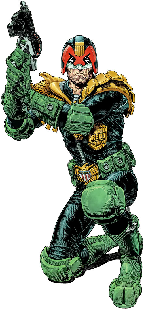 Judge Dredd (2000AD) by Cliff Robinson and Dylan Teague, 2019