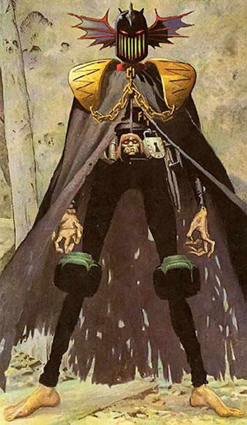 Judge Fear (Judge Dredd enemy) (2000AD Comics)
