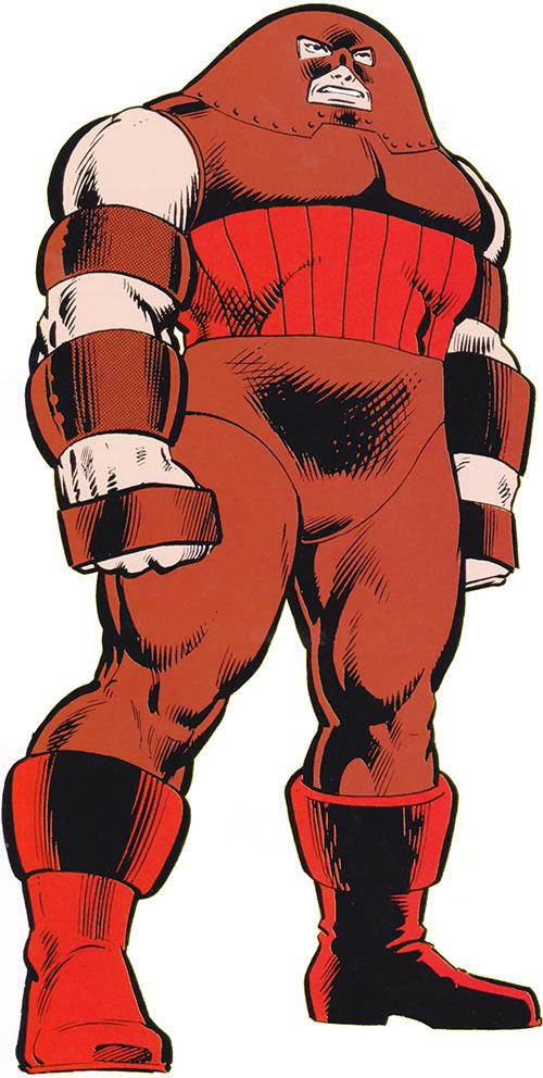 Juggernaut (Marvel Comics) classic illustration