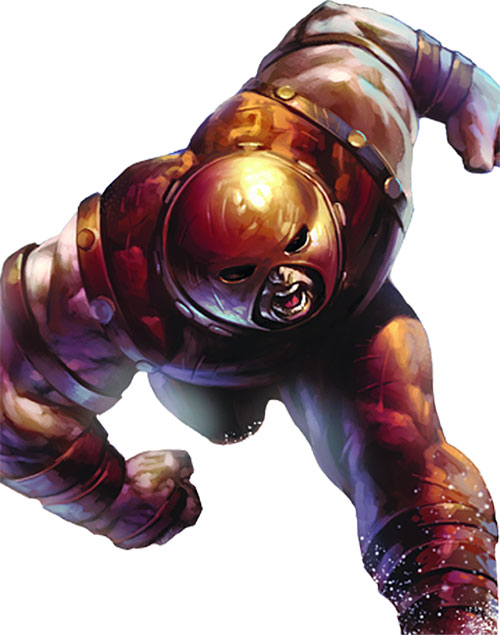 Juggernaut (Marvel Comics) charging