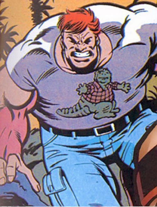 Juggernaut (Marvel Comics) in his civvies