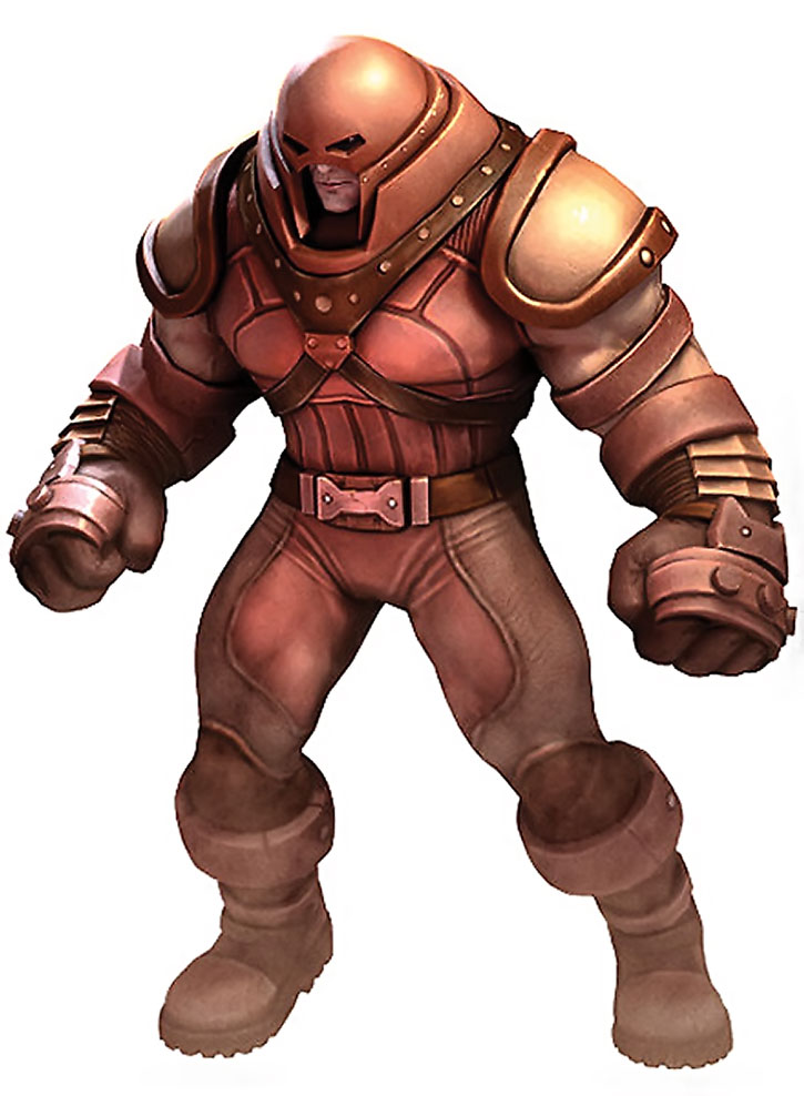 Juggernaut (Cain Marko) video game render