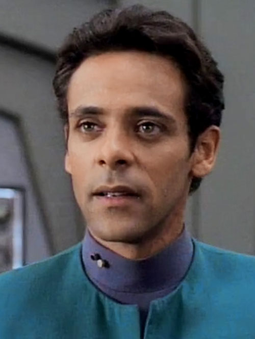 Julian Bashir (Alexander Siddig in Star Trek) portrait