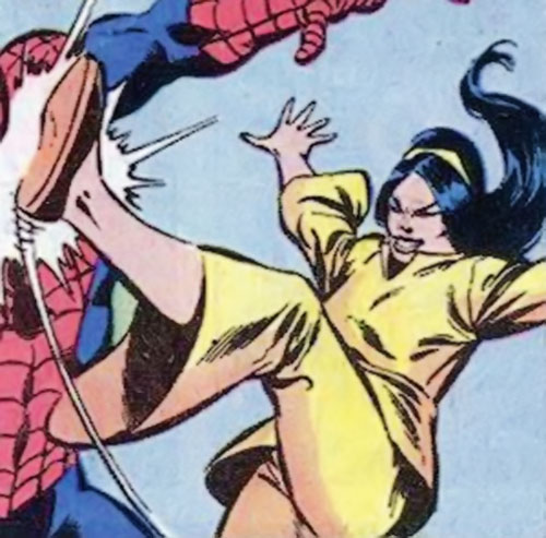 June Jitsui (Hostess Comics) vs. Spider-Man