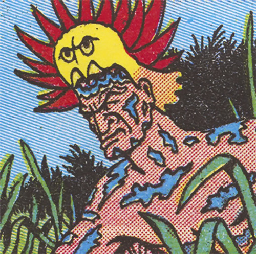 Jungle Demon (Fantomah enemy) (Jungle Comics)