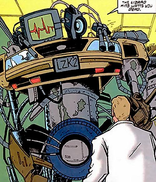 Junk Cyborg (Aztek enemy) (DC Comics)