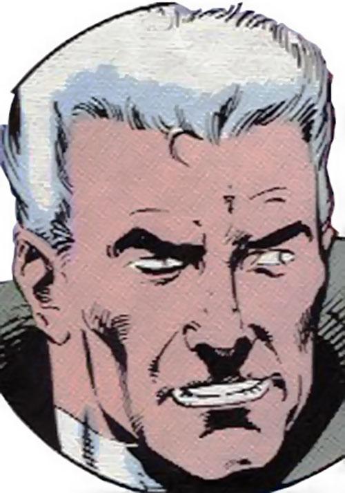 Justice (John Tensen) (Marvel Comics New Universe) face closeup