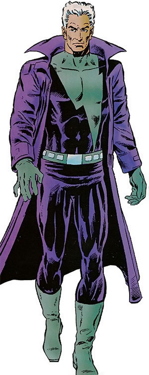 Justice (John Tensen) (Marvel Comics New Universe)