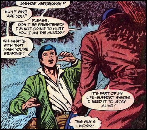 Justice - Marvel Comics - Vance Astrovik - Meeting future self