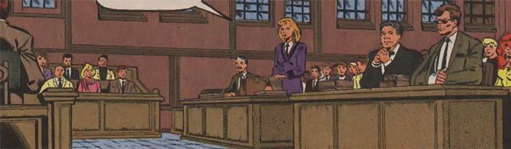 Justice - Marvel Comics - New Warriors- Avengers - Vance Astrovik - In court