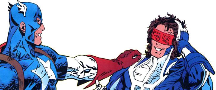 Justice - Marvel Comics - New Warriors- Avengers - Vance Astrovik - Captain America