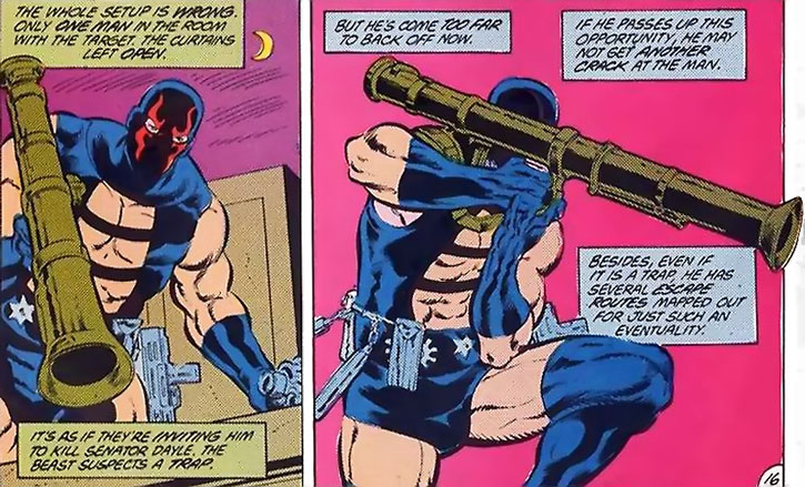 KGBeast readies and aims a bazooka