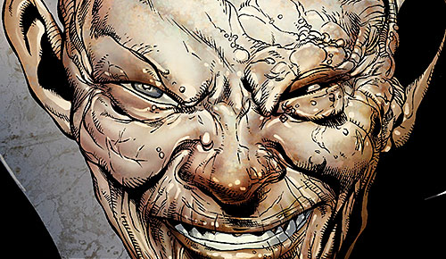 Kaga (X-Men enemy) (Marvel Comics) face closeup