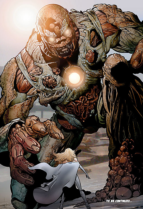 Giant meat sentinel (X-Men enemy) (Marvel Comics)
