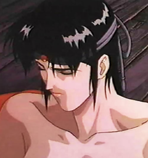 Kagero (Ninja Scroll) takes off her top